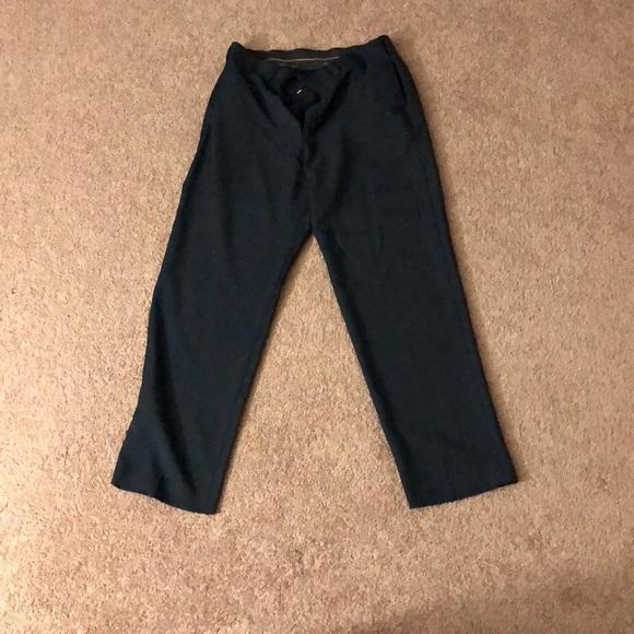Haggar Pants Mens Black Dress Poshmark